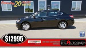2014 NISSAN SENTRA SV SEDAN - Luxury Package, bluetooth, 57000k
