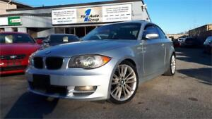 2008 BMW 1 Series 128i SPORT LEATHER, P-ROOF, BLUETOOTH