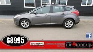 2012 FORD FOCUS SE HATCHBACK - CRUISE, CD, ONLY 67477KM