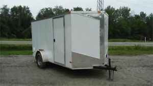 2018 NEW 6x12 V-NOSE RAMP DOOR ENCLOSED TRAILERS