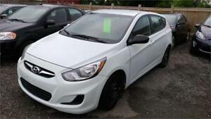 2013 Hyundai Accent GLS-Heated Seat- Low KMS 119000-CERTIFIED.