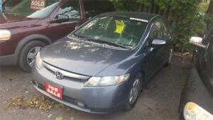 2005 HONDA CIVIC HYBRID - 4 CYL, AUTO, 4 DOOR - AS IS SPECIAL