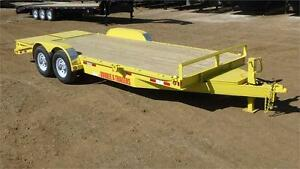 2017  20' Equipment Trailer (14000 GVW) Double A