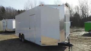 NEW 8,5X20 EXTRA HEIGHT ENCLOSED TRAILERS 5200lbs axle