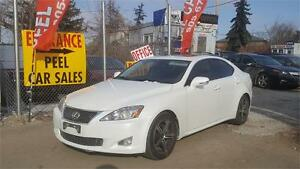 2010 Lexus IS 250|white on black|3 yrs warranty included|