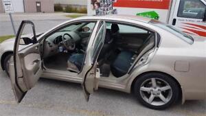 2005 Nissan Altima SE 180kms 3995.00