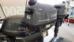 Yamaha 6hp Outboard Four Stroke - New