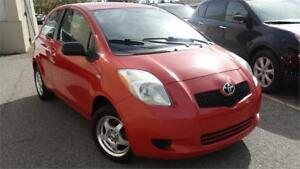 2007 Toyota Yaris CE with safety certificate
