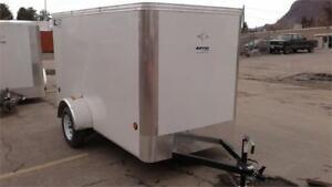 5' x 10' Enclosed Cargo Trailer with Barn door