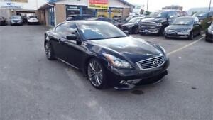 2011 INFINITI G37 Coupe Sport/MANUAL/SUNROOF/IMMACULATE$13900