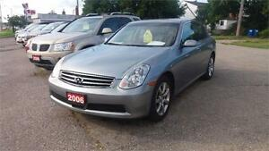 2006 INFINITI G35 Sedan Luxury Cambridge Kitchener Area image 1