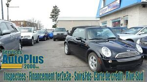 2005 MINI Cooper Convertible FULL - BAS KILO - PROPRE