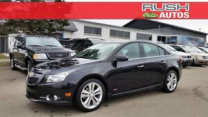 2013 Chevrolet Cruze LTZ Turbo RS **LOW KM, SUNROOF, LEATHER**