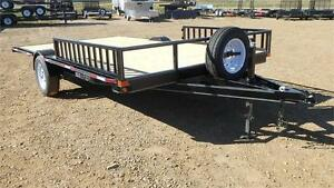 "2016 Double A, 102"" x 12FT Sled / ATV  Trailer (5000 GVW)"