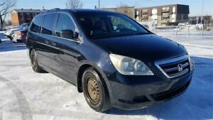 honda odyssey 8 places, cuir, mags. toit ouvrant