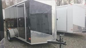 2018 BRAND NEW 6X12 + V-NOSE ENCLOSED CARGO TRAILER