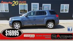 2016 GMC TERRAIN SLE - CRUISE, BLUETOOTH, ONSTAR, MINT CONDITION