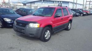 2002 Ford Escape XLS Duratec