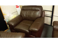 Full genuine QUALITY soft leather armchair