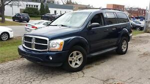 2006 DODGE DURANGO SLT 8 SEATER LEATHER 4X4 DVD SAFETY ETESTED