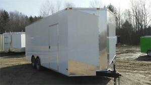 NEW 8,5X20 (5200lbs AXLE, EXTRA HEIGHT AND RAMP DOOR INCLUDED)