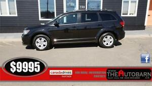 2012 DODGE JOURNEY SE+ - 4cyl auto, fully loaded, cruise
