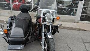 Yamaha XS1100 Eleven Special avec side car