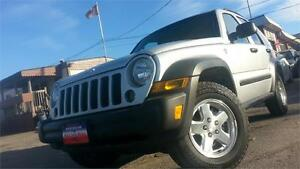 2006 Jeep Liberty Sport / DIESEL !!! / AUTO / 4X4 / HITCH