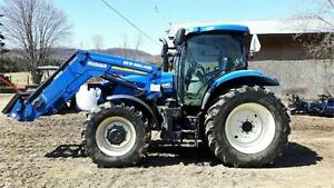 Tracteur New Holland T6 .155