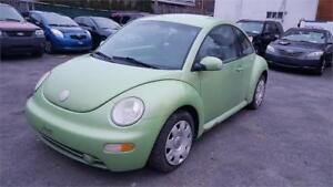 new beetle 2003, air climatise, cuir, vitres electriques