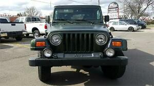 1997 JEEP TJ 5SPEED, CERTIFIED AND READY TO GO! ONLY $4900