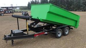 2018  16' Roll Off Dump Trailer (22000 GVW) Double A