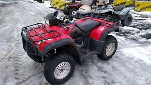 HONDA 500 RUBICON, VERY CLEAN ONLY 2200 Miles