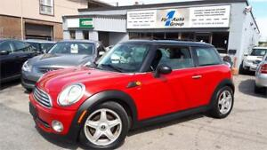 2009 Mini Cooper Classic PAN-ROOF, LEATHER, BLUETOOTH