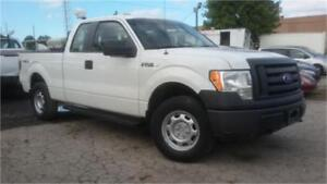 2009 Ford F150 XL 4x4, 4 doors, Tow package, Back rack-Tool box!