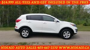 2015 KIA SPORTAGE  AWD  All included in the price