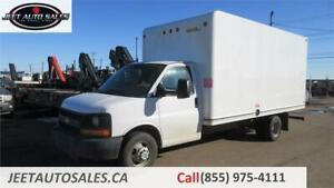 2015 Chevrolet Express Commercial Cutaway with 16 Ft Cube Box