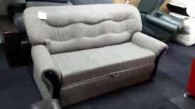 New clearance 4ft6 pull out fabric sofabed