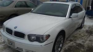 2003 BMW  745Li 1 YEAR FREE WARRANTY