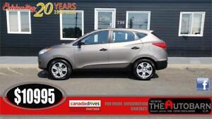 2012 HYUNDAI TUCSON - 4CYL, CRUISE, BLUETOOTH, HEATED SEATS