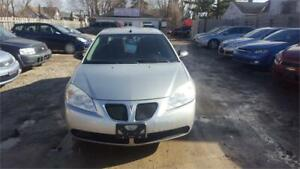 2008 PONTIAC G6 4 CYL 4 DOORS AUTOMATIC SAFETY AND WARRANTY