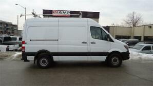 "2014 Mercedes-Benz Sprinter 2500 Diesel Short Tall 144"" 3passng"