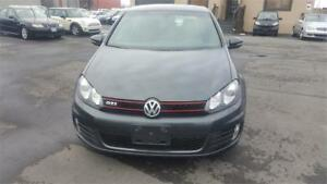 2011 Volkswagen Golf GTI WITH SET OF WINTER TIRES AND RIM!!