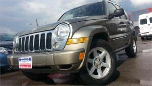 2005 Jeep Liberty Limited / 4x4 / AUTO / 3.7 V6 / NEW TIRES