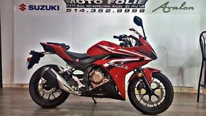 honda cbr 500 2016 demonstrateur