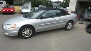 2003 Chrysler Sebring LXi v.g.a. special