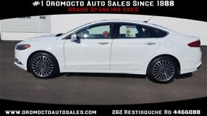 2017 Ford Fusion ALL WHEEL DRIVE,LEATHER,NAV,SUNROOF,REMOTE STAR