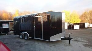 2018 NEW 8,5x18 7ft HIGH ENCLOSED CARGO TRAILER w/5200lbs AXLE