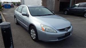 2004 Honda Accord Sdn LX/AUTO/CERTIFIED/EMISSION/VERY CLEAN$1999
