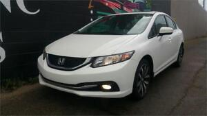 2015 Honda Civic Sedan Touring  *One Owner *Navi *Leather